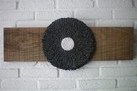 zwartwitcirkel op eiken a W